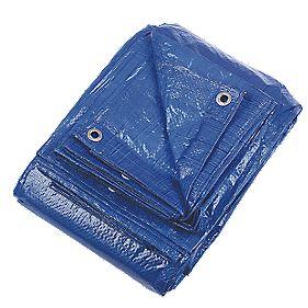 Blue Tarpaulin 5.25 x 6.65m