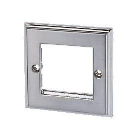 Polished Chrome Modular Plate 2-Gang