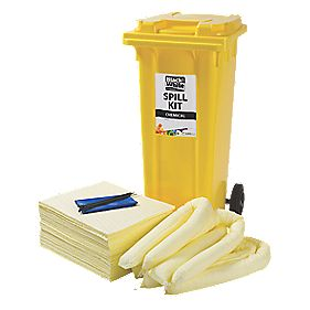 Lubetech Black & White Chemical Spill Response Kit 120Ltr