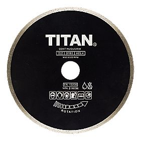 Titan Diamond Blade 180 * 25.4mm