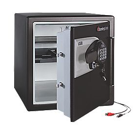 Sentry QE4531 Advanced Lock Water Resistant Fire Safe Med 472 x 491 x 603mm