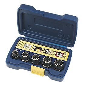Irwin Bolt Grip Nut Remover Set 5 Pieces