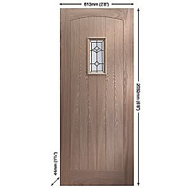 Jeld-Wen Sheff Croft External Door Unfinished 813 x 2032mm