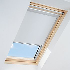 Roof Window Blackout Blind White 550 x 780mm