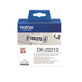 Brother Labelling Tape Roll White 62mm