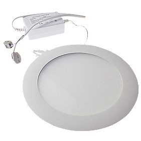 "8"" 14W Commercial LED Downlight Warm White 18-22V"