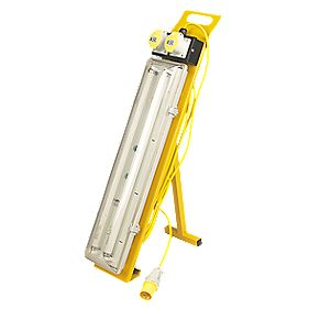 Defender E708670 'A' Frame Plasterers Light 110V 36W