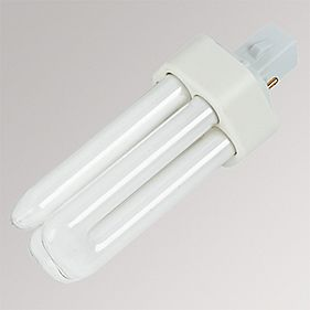 Osram Compact Fluorescent Lamp Cool White GX24D 2-Pin 1200Lm 18W