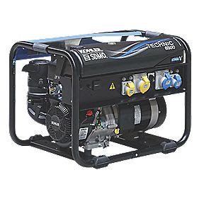 SDMO Technic 6500 UK 6500W Generator 230/110V