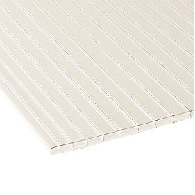 Corotherm Triplewall Polycarbonate Sheet Clear 980 x 4000mm