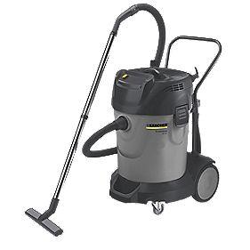 Karcher NT70/2 2400W 70/70Ltr 2-Motor Wet & Dry Vacuum Cleaner 240V