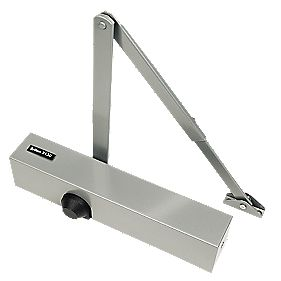 Briton 2130B Overhead Door Closer Silver