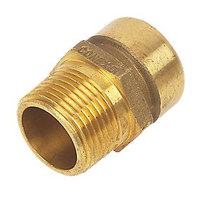 Conex Push-Fit 243G Straight Male Connector 28X1""