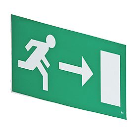 LAP Swift Emergency Lighting Hanging Exit Right Sign