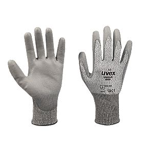 Uvex Unidur Cut 5 PU Palm Gloves Grey Large