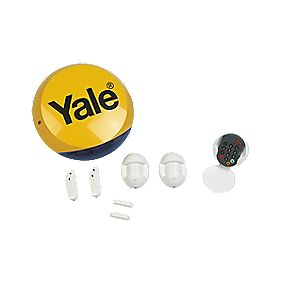 Yale Standard Wireless 4 Room Alarm Kit