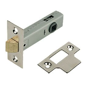 Tubular Latch Nickel Plated 80mm