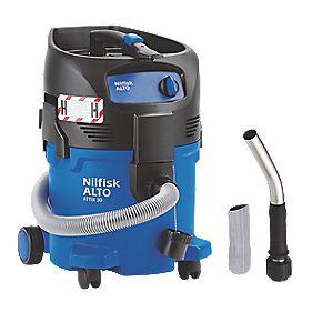 Nilfisk Attix 30-0H PC 1200W 30Ltr H Class Hazardous Dusts Vac Cleaner 240V