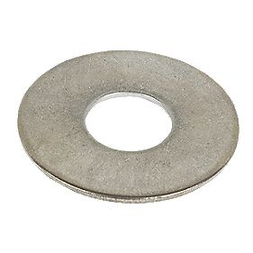 Large Flat Washers A2 M12 Pack of 10