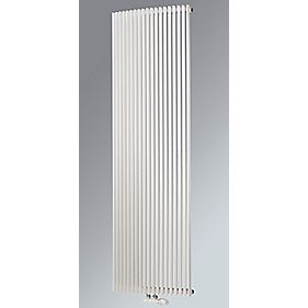 Aurora Curved Vertical Designer Radiator White 1800 x 580mm 4913BTU