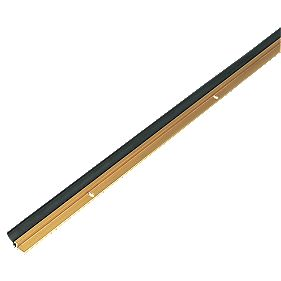 Heavy Duty Around Door Strips Brass Effect 1025mm Pack of 5