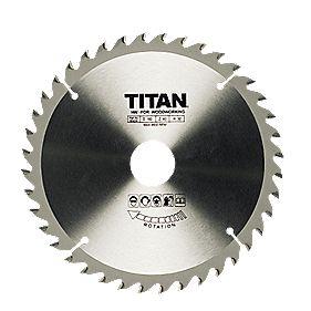 Titan TCT Circular Saw Blade 40T 190x16mm