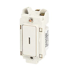 Crabtree 20A 1-Way Key Switch