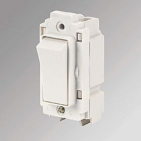 Crabtree Anti-Microbial 20A 1-Way Rockergrid Switch