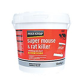 Pest-Stop Super Mouse & Rat Killer Pack of 10