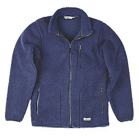 "Work-It Sherpa Jacket Navy Large 44-46"" Chest"