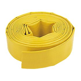 "Layflat Hose Yellow 10m x 2"" (51mm)"