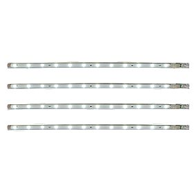36130 Avi Cabinet Striplight White Pack of 4