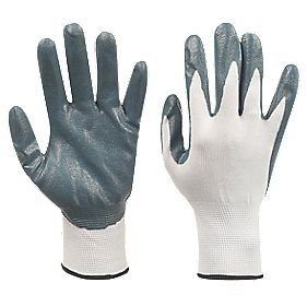 Nitrile-Coated Palm Gloves Large