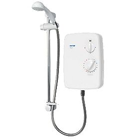 Triton Agio Manual Electric Shower White 8.5kW