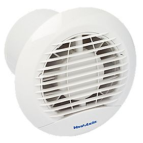 Vent Axia Eclipse 100X Axial 15W Bathroom Fan