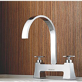 Moretti Aria Bridge Sink Mixer Kitchen Tap Chrome