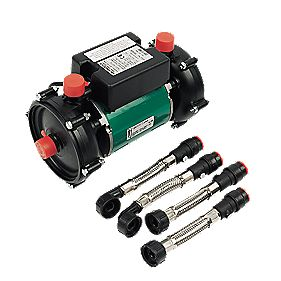 Salamander RSP50 Twin Positive Head Shower Pump 1.5bar