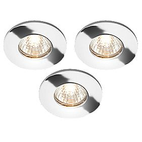 LAP IP65 12v Downlight Polished Chrome pk3