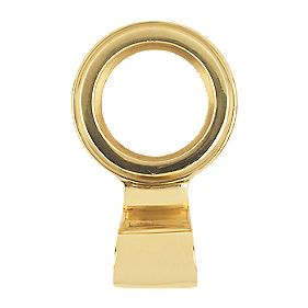 Carlisle Brass Open Cylinder Latch Pull Polished Brass 34mm
