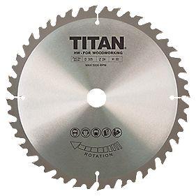Titan TCT Circular Saw Blade 24T 305 x 20/25/30mm