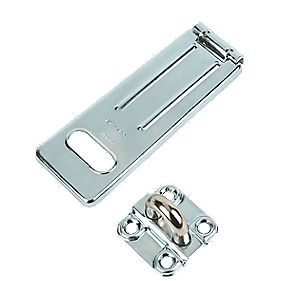 Master Lock Heavy Duty Hasp & Staple 15mm