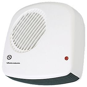 Winterwarm 038104 Wall Hung Downflow Fan Heater 2000W