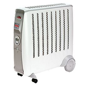 Dimplex CDE2Ti Cadiz Eco Oil-Free Portable Radiator with Timer 2kW