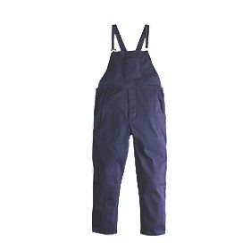 "Worksafe Bib & Brace Navy Large 40"" W 31"" L"