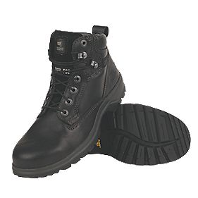 CAT Kitson Ladies Safety Boots Black Size 6