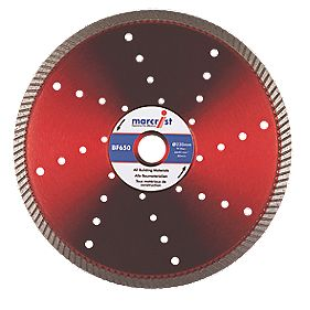 Marcrist BF650 Precision Universal Turbo Diamond Blade 350 x 25.4mm