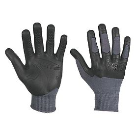 Apache Industrial Wear Madgrip Tradesman Gloves Grey Large