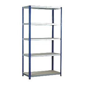 Barton Ecorax Shelving 1800 x 900 x 450mm 5 Shelves
