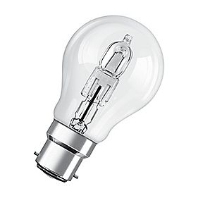 Osram Classic ECO Superstar GLS Halogen Lamp BC 116W