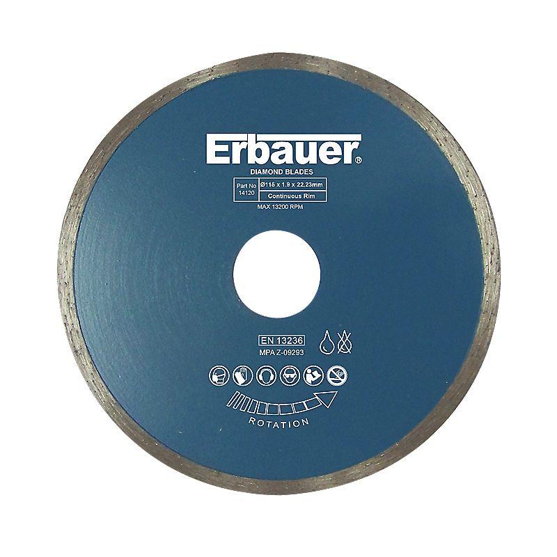 Erbauer Diamond Tile Blade 115 x 1.9 x 22.23mm